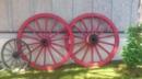 Riesen Kutschenräder 2 Stück