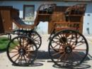 Holz Qualitäts Pferdekutsche steht zum verkauf